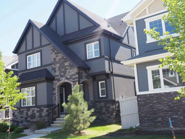 Residential Stucco Edmonton Contractors House Exterior